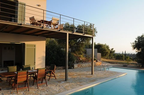THREE RESIDENCE COMPLEX ON THE ISLAND OF LEFKADA