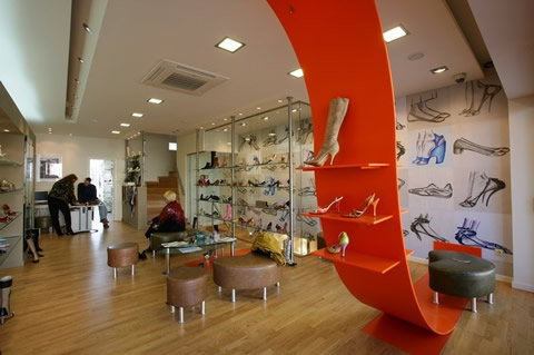 SHOE SHOW ROOM IN ATHENS